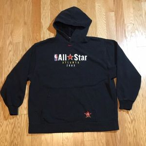 Vintage Nike NBA All Stars Hooded Sweatshirt